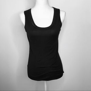 ANN TAYLOR Black Tank Top